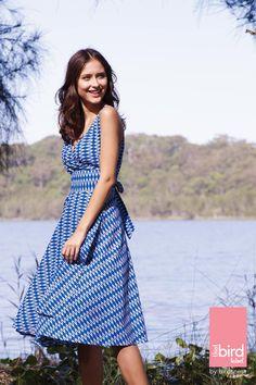 #thatbirdlabel Maggie wrap dress