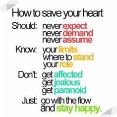 How to save your heart..