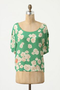 The Carolinae Top  from  anthropologie is going to look so great with my Sierra necklace from Stella & Dot!