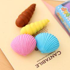 Lovely shell animal eraser