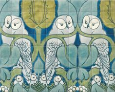 Ceramic Tiles of The Owls by V&A (2000mm x 1600mm) | Shop | Surface View