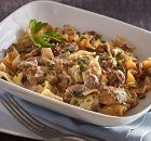 Make Mexican Beef & Rice Casserole tonight: a tasty way to make a pound of ground beef serve eight. Mexican Beef & Rice Casserole also freezes well! Kraft Recipes, Cookbook Recipes, Cooking Recipes, Beef And Rice, Rice Casserole, Cooking Instructions, Mixed Vegetables, Greek Recipes, Different Recipes