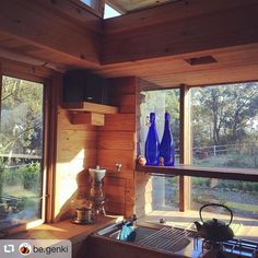 #repost @be.genki #tinyhouse #tinyhousejapan #basket #afternoonsun filling the tiny house. To find out more follow tinyhousejapan! I love my tiny house. It truly is a GenKi place! #Genki #genkiliving #simplelife #simpleliving #元氣 #元氣リビング #元氣ビー #八くん (見えますか) #genkibee #hachikun Can you see me? by tinyhousejapan Tiny Living, Simple Living, Japanese Style Tiny House, Micro House, How To Find Out, Basket, Tiny Houses, Places, Design