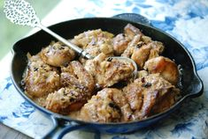 Pan-Roasted Cornish Hens with Calvados and Apples (Primal, use coconut cream for Paleo/Whole30)
