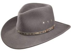Stetson Elk Horn Wool Cowboy Hat (Medium) From the OutDoor Collection  Crushable Wool Hat perfect for packing and travelling. Made in the USA  Aztec Pattern ... 89b7ea59bd31