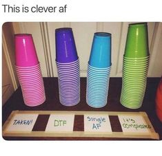 All 9 gaggers raise your blue cups