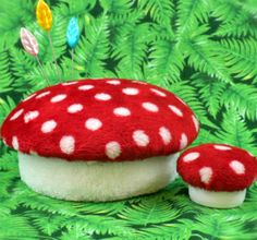 this mushroom can be an awesome pincushion