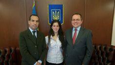 Nueva sede de Embajada de Ucrania en Argentina. Parte de equipo de Equilibrium Global recibidos por Embajador S E Yurii Duidin para conversación de la actualidad política de Ucrania.