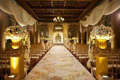 Location: Millennium Biltmore Hotel, Los Angeles Los Angeles, CA; Photography: Mike Colón Photographers, Newport Coast, CA #GOWS #platinumlist #weddingstyle #graceormonde #luxuryweddings