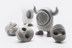 United Monsters, una tropa de juguetes de concreto