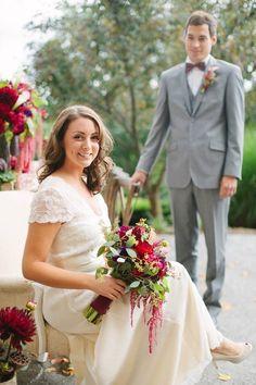 Wedded bliss by Garnish Event Design.  Garnisheventdesign.com #nicolecassanophotography #rusticacresfarm #jpceventgroup #bellabridesmaids