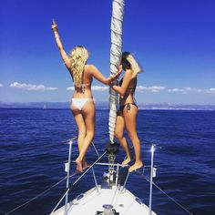 The Yacht Week - Don't miss out on the memories .. Grab a friend and get the right bikini for the yacht. Visit www.clubwearcentral.com for the hottest yacht party bikinis.