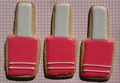 Little nail polish cookies (picture only)