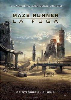 Maze Runner – The Scorch Trials (la fuga): Il poster & Il trailer ufficiale!