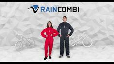 RAINCOMBI for cycling: breathable lightweight rain suit