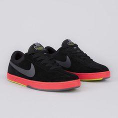 Nike SB Eric Koston 1 Black/Sunburst-Atomic Green