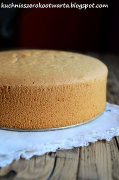 Polish Desserts, Aga, Cornbread, Vanilla Cake, Sweet Recipes, Cheesecake, Cooking Recipes, Cookies, Ethnic Recipes