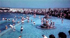 Cleethorpes Beach Open Air Lido in Cleethorpes North Lincolnshire England
