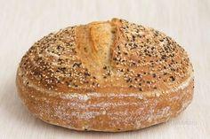 Kváskový chlieb pre začiatočníkov - My site Snacks, Pizza Dough, Baked Potato, Bread Recipes, Bakery, Food And Drink, Meals, Cooking, Tatoo