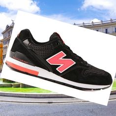 New Balance Men Shoes Mrl996ed Black Nb996 Red Ep HOT SALE! HOT PRICE!