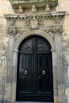Door of a Mansion, Lecce Italy