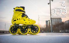 Imperial Megacruiser 125 - 3wheeler Speed Skates, Skate Wheels, Inline Skating, Mtb, Skateboard, Public, Sneakers Nike, Sports, Skateboarding