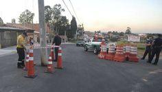 Rua no bairro Aparecidinha tem seis postes no meio do asfalto - 04/05/16 - SOROCABA E REGIÃO - Jornal Cruzeiro do Sul