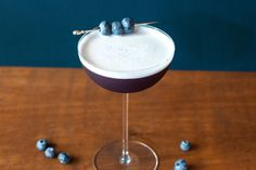 You like blueberries. You want to experiment with gin drinks. You're in luck. This combines those two things and more!
