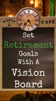 How would you describe your ideal retirement life? Struggling with the retirement planning process? Why not set retirement goals with a vision board? Retirement Advice, Saving For Retirement, Retirement Parties, Early Retirement, Retirement Planning, Financial Planning, Menu Planning, Retirement Cards, Financial Goals