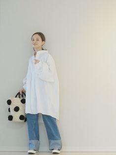 田中亜希子|シャツワンピースを使ったコーディネート - WEAR