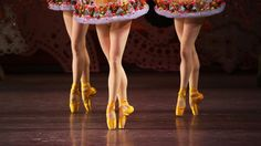 At City Ballet, Footwear Is Almost as Important as Feet ~ pointe shoes and pointe shoe preparation from the dancers at City Ballet, New York ~ Satellite City Hot Stuff that is usually used on hairline cracks in furniture.--to make shoes last a bit longer ~