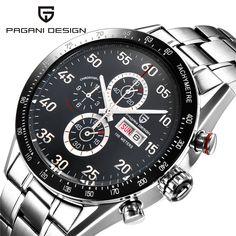US $59.80 - Watches Men Luxury Brand Multifunction PAGANI DESIGN Quartz Men Sport Wristwatch Dive 100m Military Watch Relogio Masculino