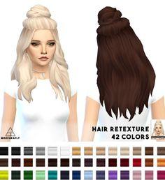 Miss Paraply: Hair retexture Vellichor • Sims 4 Downloads