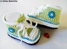 Babyschuhe  10cm von stricklienes lädchen auf DaWanda.com