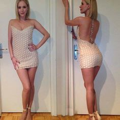 Jelena Rozga wearing dress by Martina Felja