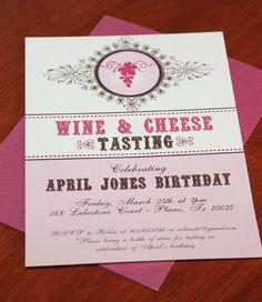 DIY Wine & Cheese Tasting Party Invitation from #DownloadandPrint. http://www.downloadandprint.com/templates/wine-tasting-party-set-invitation/