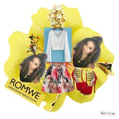 """ROMWE #27"" by nizaba-haskic ❤ liked on Polyvore"