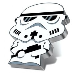 Stormtrooper Chibi Star Wars Series 1 oz Proof Silver Coin