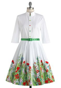 Beyond the Meadow Dress, #ModCloth Too cute for words!