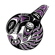 Northwest Native American Orca
