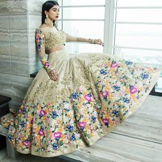 Jiofab have special collection of wedding and designer lehenga with best rates. Buy online lehenga with best quality in India,USA,UK,Canada and worldwide. Order this neeta lulla tafeta silk wedding designer lehenga for mehndi, sangeet and wedding. Pakistani Bridal, Bridal Lehenga, Pakistani Dresses, Indian Bridal, Indian Dresses, Indian Party, Indian Wedding Outfits, Indian Outfits, Eid Outfits