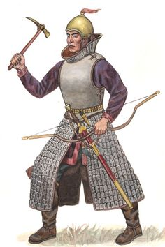 Yuezhi (Kushan) Warrior
