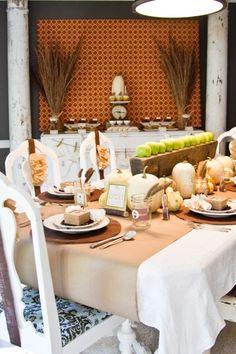 Beautiful Thanksgiving decor