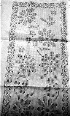 Студия ручного вязания Натальи Брыжиной Filet Crochet, Crochet Stitches, Knit Crochet, Cross Stitch Fruit, Cross Stitch Flowers, Crochet Tablecloth Pattern, Crochet Doilies, Embroidery Patterns, Crochet Patterns