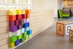 Kfar Shemaryahu Kindergarden in Israel designed by Sarit Shani Hay | Reception - playful details