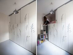 Living in a shoebox | The au pair's tiny (86 ft2) apartment