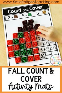 My kindergarten students love using these fall snap cubes activity mats to build their foundational math skills while developing strong fine motor skills! With eight, interactive activity mats, your students will practice number representations for numbers 1-10. These fall count and cover activity mats are perfect for my kindergarten small groups, math centers, morning tubs, and more!