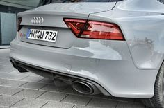 Audi RS7 Sportback // Blogger-Testdrive, Neckarsulm (Germany) July 2013 #Audi #RS7 #Sportback #V8 #Coupe Audi Rs7 Sportback, Germany, Sports, Cutaway, Hs Sports, Deutsch, Sport