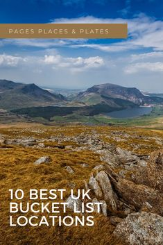 Britain has such an amazing range of British locations and experiences to see, so you should totally have a UK bucket list! Here are the best ten places that you should visit from England, Scotland, Wales, and Ireland. #holiday #vacation #abroad #rural #family Family Holiday Destinations, Travel Destinations, Best Places To Travel, Places To Go, Uk Bucket List, Ireland Holiday, Tens Place, Hiking Trips, Going On Holiday