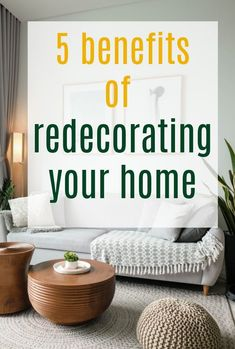 A look at the surprising benefits that come form redecorating your home and why a simple DIY and refresh can bring so much joy and enhance your life so much #interiors #homemakeover #interiordesign #redecorating Simple Diy, Easy Diy, Home Hacks, Beautiful Space, Home Look, Household Items, Storage Solutions, Decorating Your Home, Design Trends
